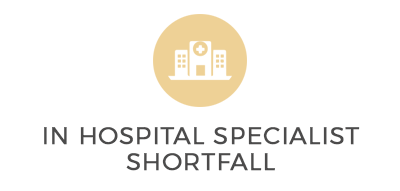 In hospital specialist Shortfall